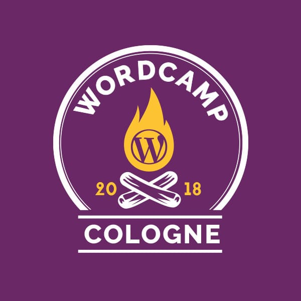Logo WordCamp Cologne 2018