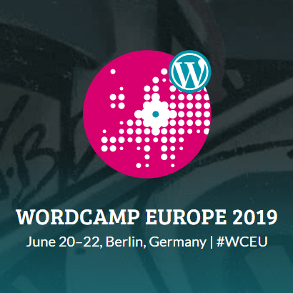 Logo WordCamp Europe 2019