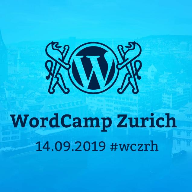 Logo WordCamp Zürich 2019
